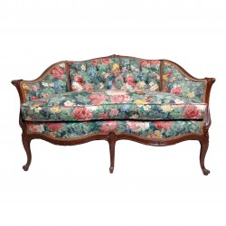 Sofa estampado floral