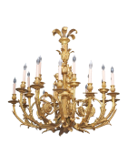 Vintage and antique chandeliers and chandelabra