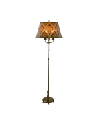 Vintage and antique floor lamps